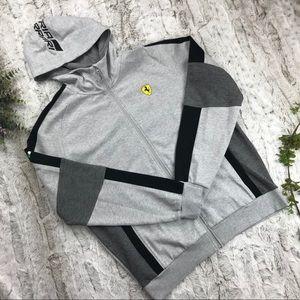 [Puma] Scuderia Ferrari Hooded Sweat Jacket Size L